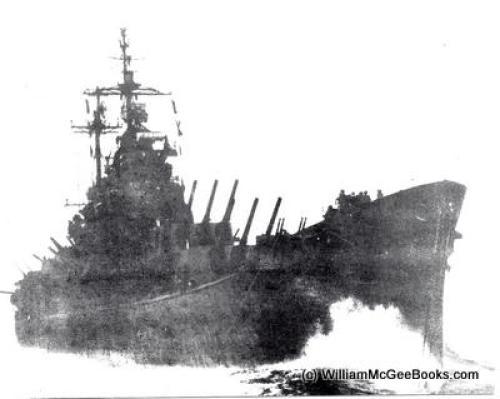 Operation Crossroads 1946, the USS Fall River (CA-131)