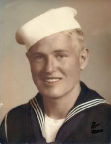 U.S. Navy Gunner's Mate Bill McGee, 1943