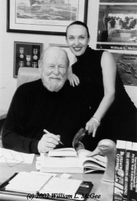 Publicity photo of authors Bill and Sandra McGee