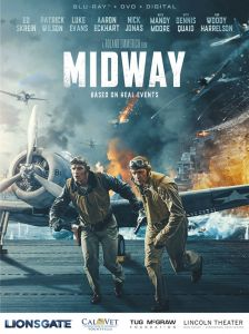 "Poster for movie ""Midway"""