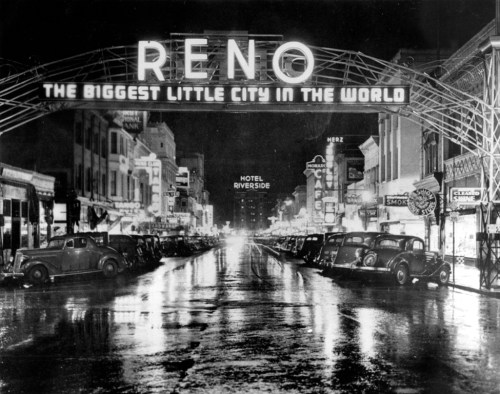 The famous Reno arch