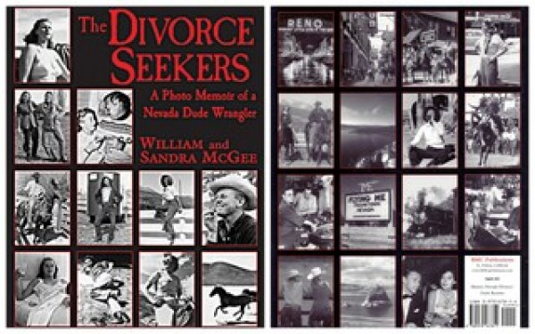 Full cover spread of The Divorce Seekers by William L. McGee and Sandra V. McGee
