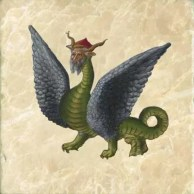 Know Your Dragons! Medieval Bestiary Dragon Tiles and Legend