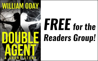 Double Agent, a free short story for the Readers Group!