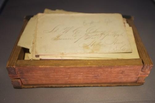 William C. Cherry's cache of letters