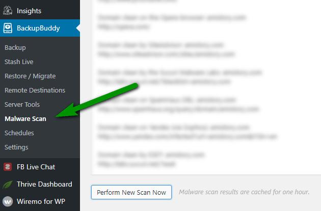 BackupBuddy-scan-malicious-code-williamreview.com