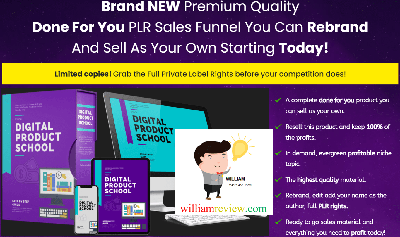 Digital Product School PLR Review   A Hassle Free Way To Generate ...