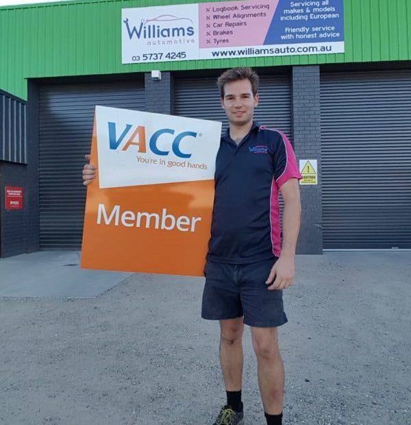 VACC mechanic Wangaratta Vic