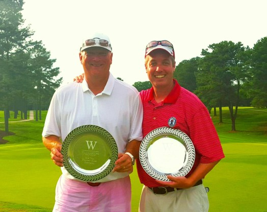 Congratulations to our overall winners, Dave Hanna and his guest Gerald Walsh!