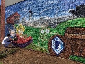 Street Art Wall Painting Mural Kitchener