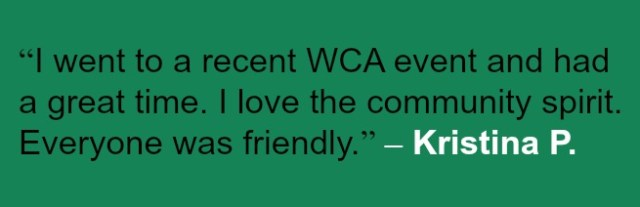 WCA Volunteer