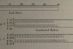 Devere's Graduated Rulers