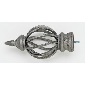 Birdcage Finial - Antique Pewter