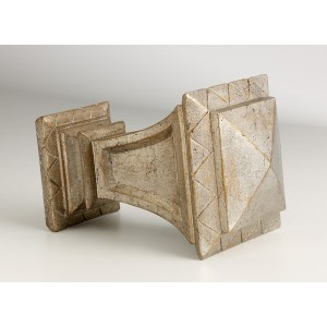 "Cross Geometric 3"" Finial"