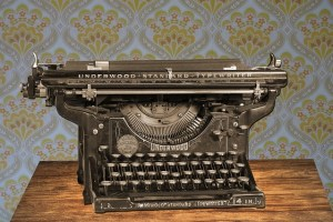 Old Typewriter - William Sinclair - Step Into Your Power