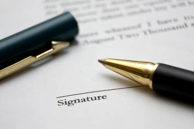 Image of documentation for an article about signing over power of attorney for elderly parents.