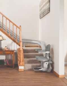 Bruno Curve Stairlift