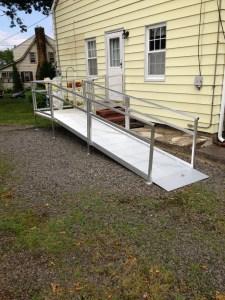 a wheelchair ramp