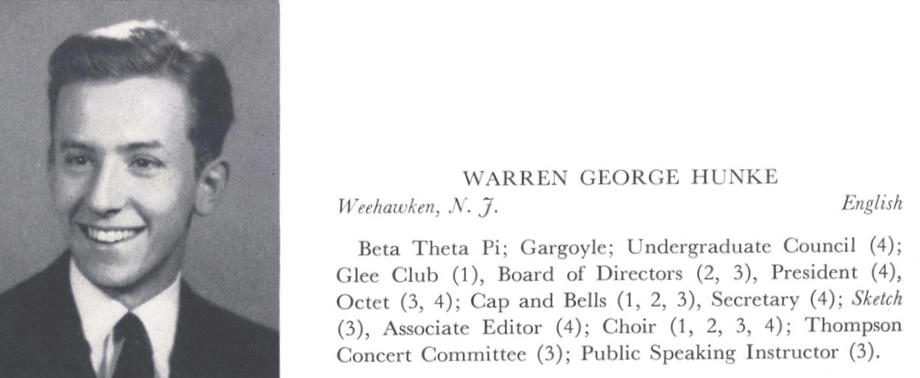 Warren Hunke '42