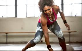 SERENA WORKING OUT 2