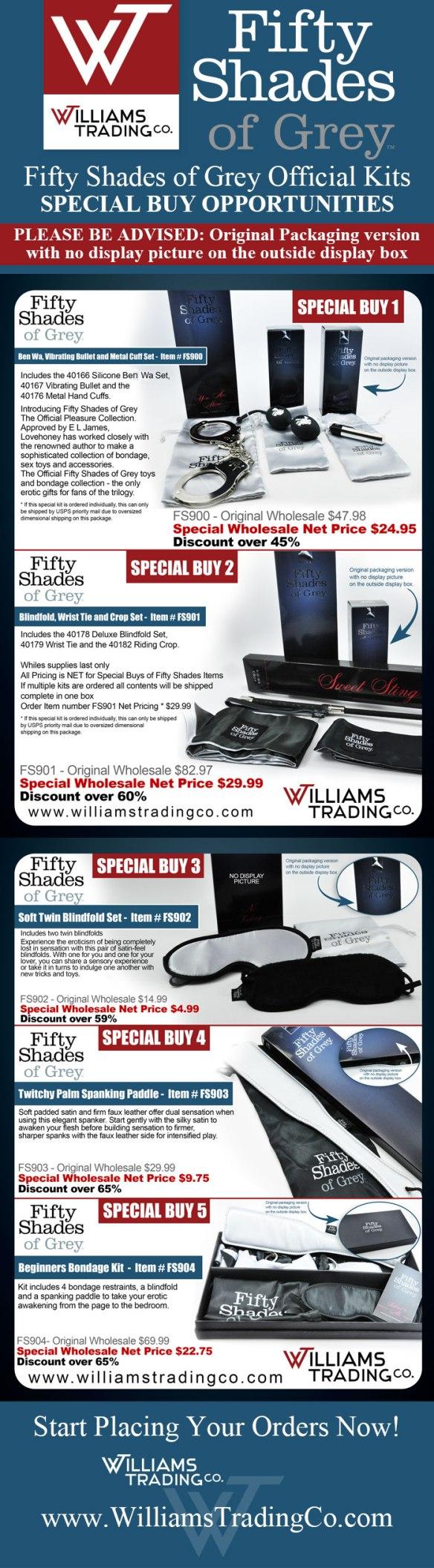 fifty shades kits
