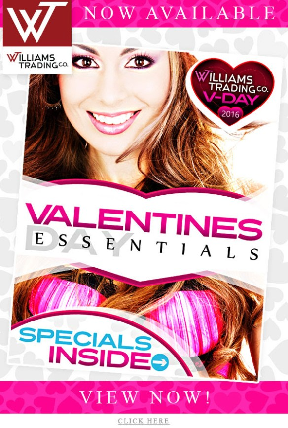 Williams Trading Co Love Month Sale Save 10-50%