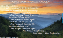 """""""Once Upon A Time"""" in America"""