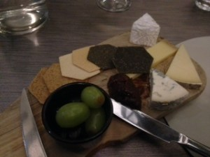 Cheese board to share