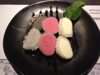 Dessert at Wagamama