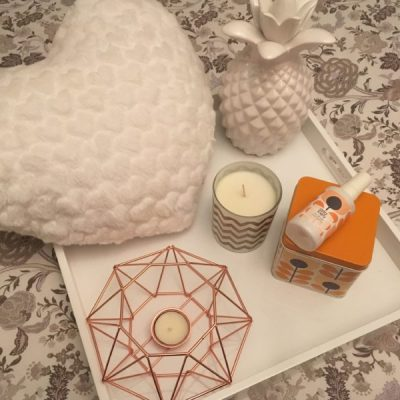 5 under £5 in January – Candles, Orla Kiely and fluffy cushions