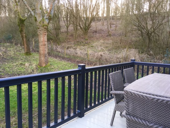 Hartfield Lodge Decking