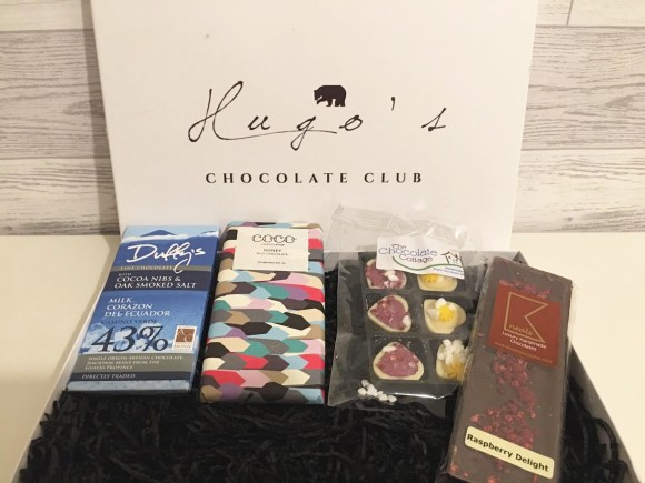 Hugo's Chocolate Club - Contents