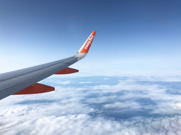 easyJet flight to Amsterdam