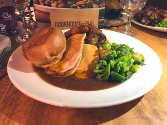 Turkey Dinner - Cookhouse and Pub