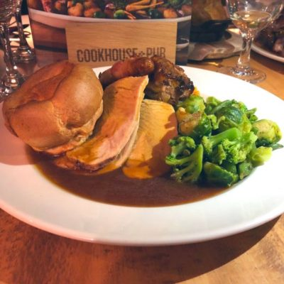 Review – Festive Menu at the Cookhouse and Pub
