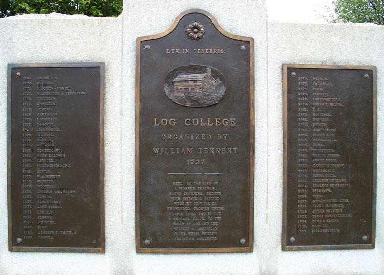 log college monument
