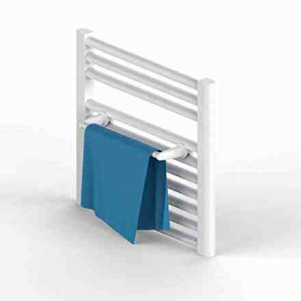 WillieJan Radiator towel rack 940W - White - 1 rod - 36 cm - Radiator mounting - Without drilling