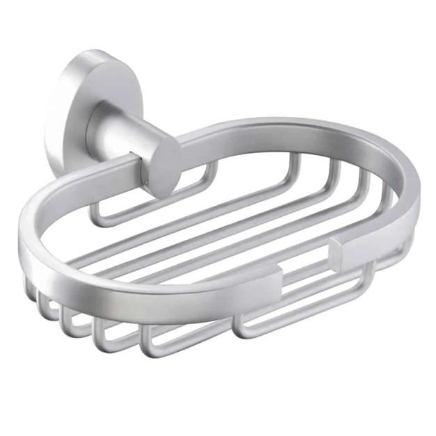 WillieJan Zeepbakje KD6911 - Roestvrij Aluminium - Roestvrij - Lichtgewicht