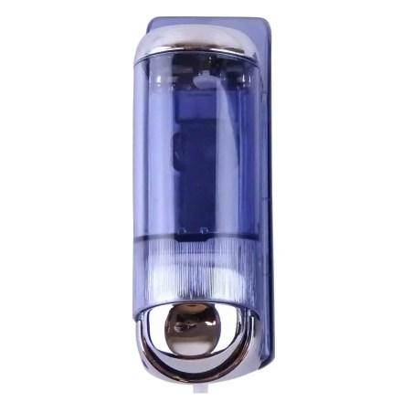Marplast zeepdispenser 8651 - Professionele kwaliteit - Chroom met Transparant - Inhoud 170 ml