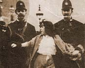 thewlis-postcard-s arrest of 16 year old weaver
