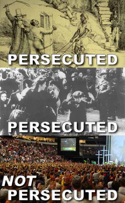 Christians are not Persecuted