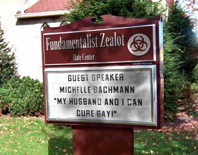 Bachmann Cures Gays