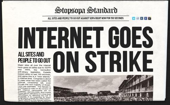 Strike Newspaper