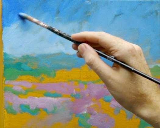 Monet Style Impressionist Acrylic