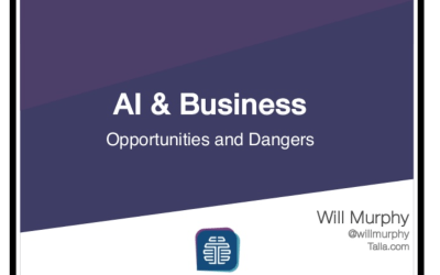 AI & Business – Opportunities & Dangers (Presentation)