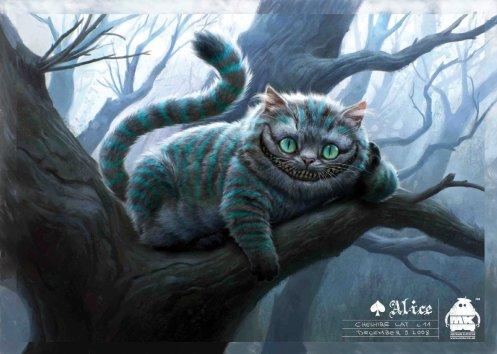 Alice in Wonderland - Cheshire Cat, Concept Art