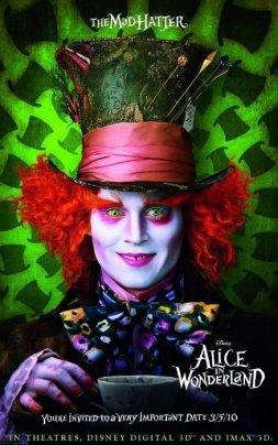Alice in Wonderland - Mad Hatter, Promotional Image