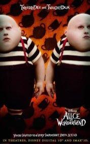 Alice in Wonderland - Tweedledee and Tweedledum