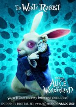 Alice in Wonderland - White Rabbit, Promotional Image