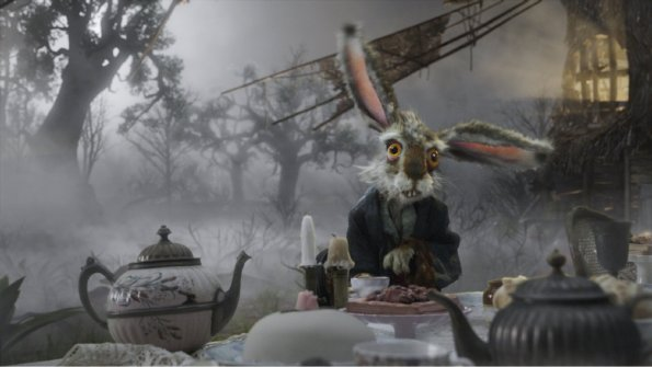 Alice in Wonderland - White Rabbit, at the Tea Party